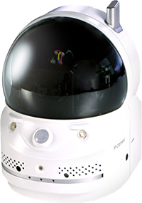 100万画素簡単設定ネットワークカメラ